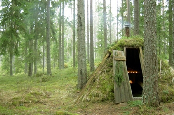 Glamping : glamorous camping!