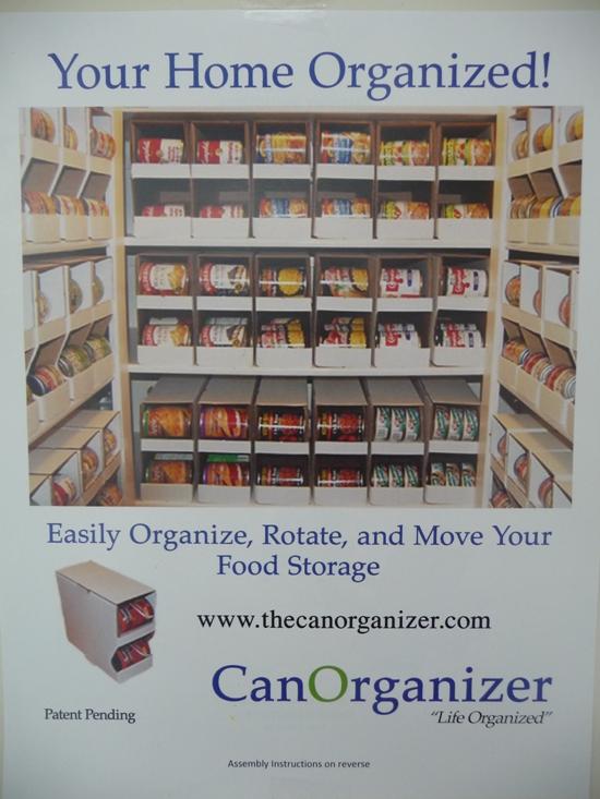 Organizing your food storage