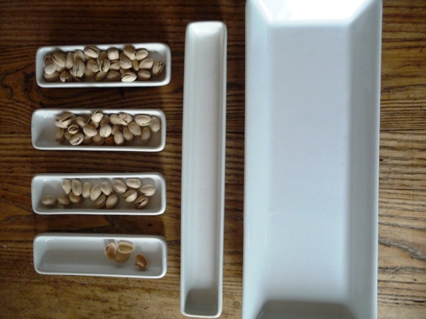 Give away time: Pampered chef all white hostess set!