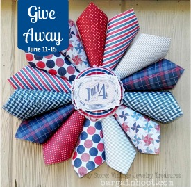 4th of july wreath Give away!!