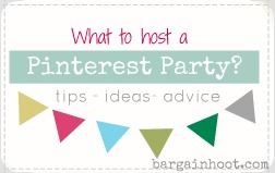 How to host a pinterest party