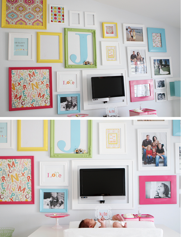 Large Photo collage wall