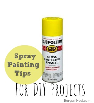 A Splash of Color- DIY Tips for Spray Painting