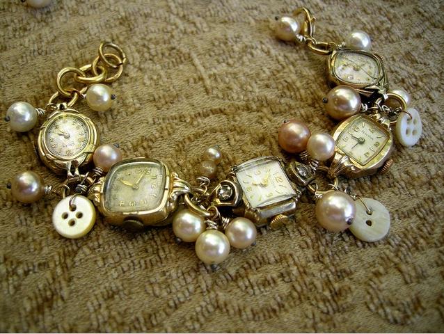 Vintage watch jewelry