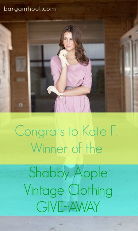 Shabby Apple Vintage Clothing Give-away :: WINNER!!!