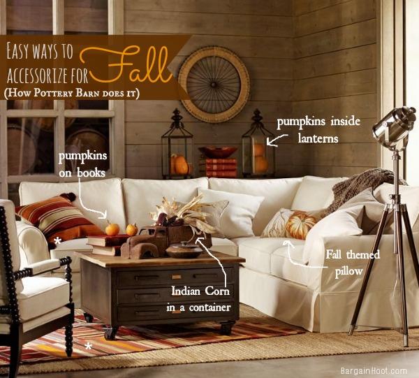 Easy Fall decor ideas :: Pottery Barn