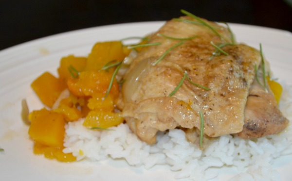 Simple Slow Cooker Recipe :: Autumn Herbed Chicken