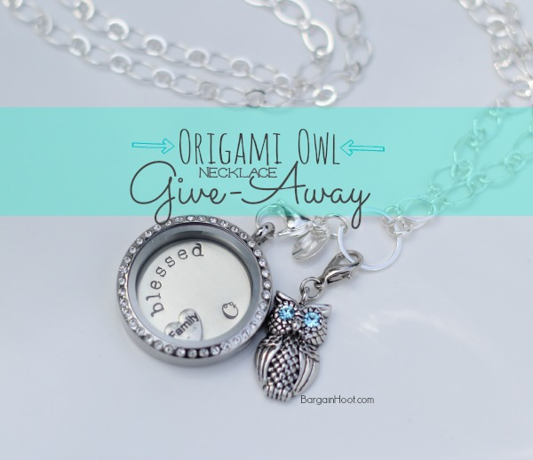 Origami Owl Necklace Give-away :: WINNER!!!