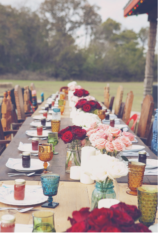 Pretty Fall table ideas:: I spy an owl