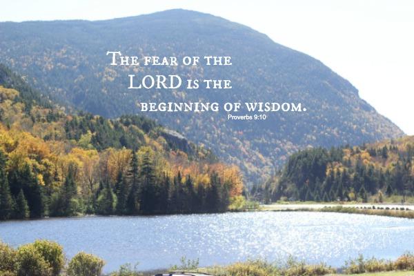Wisdom::Proverbs  9:10