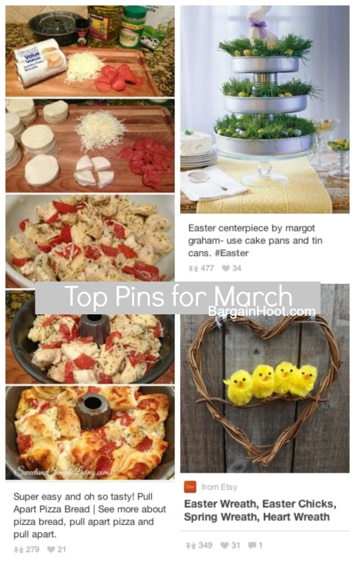 Top Pinterest Pins:: March 2014