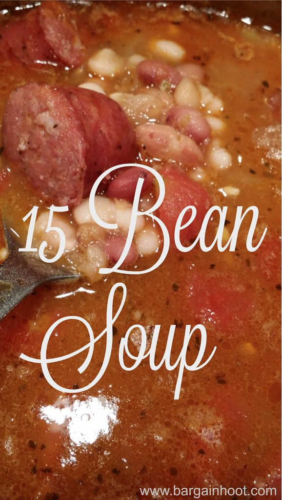 15 Bean Soup and a little chat