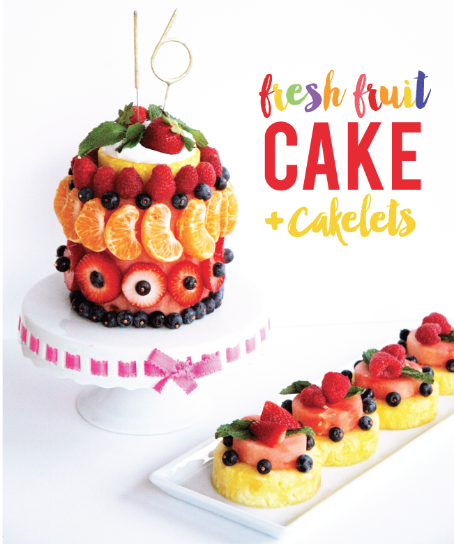 Fantastic Healthy No Bake Fresh Fruit And Veggie Birthday Cake Examples Funny Birthday Cards Online Elaedamsfinfo